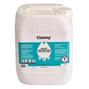 P1 Cleeny ontvetter en vloerreiniger concentraat 10 liter