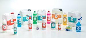 cleeny professionele schoonmaakmiddelen